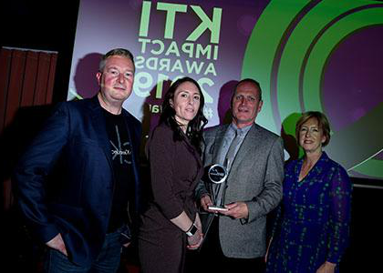 "DkIT and Nova Leah win Knowledge Transfer Ireland ""Impact Awards"" 2019"